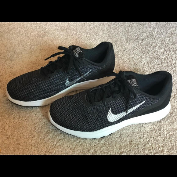 1d84bb61d Nike Shoes | New Womens Black Running Size 7w | Poshmark